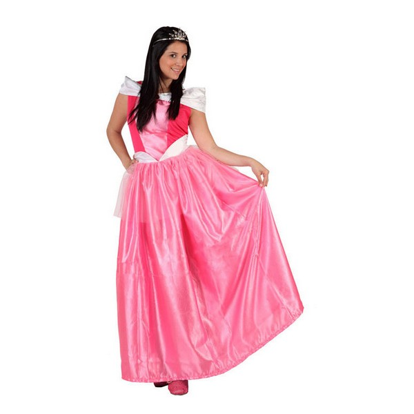 Costume for Adults Fairy tale princess Pink (1 Pc)