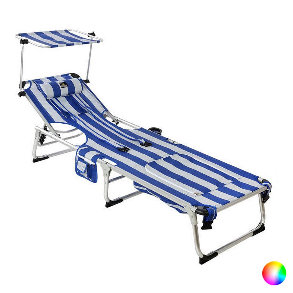 Beach sunbed (190 x 60 x 31 cm)