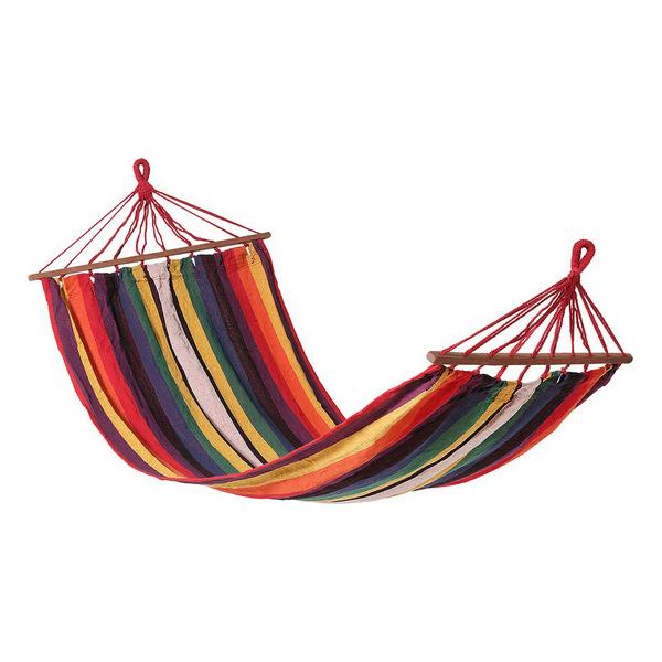 Hanging Hammock Multicolour (200 X 100 cm)