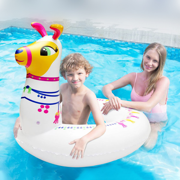Inflatable Pool Float White (96 X 87 x 85 cm)