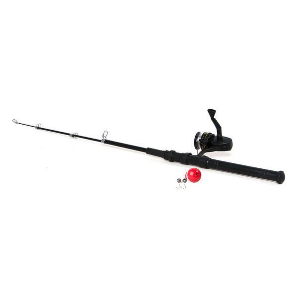 Fishing rod 117958 Black (150 Cm)
