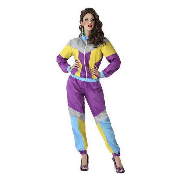 Costume for Adults 80S Purple