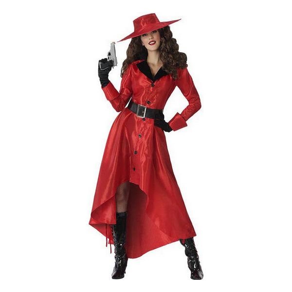Costume for Adults Comic hero Red