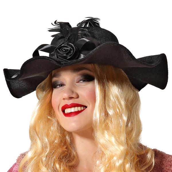 Sombrero Años 20 Negro