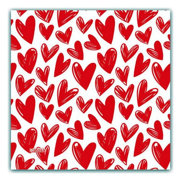 Mascarilla Higiénica de Tela Reutilizable Corazón Infantil (1)
