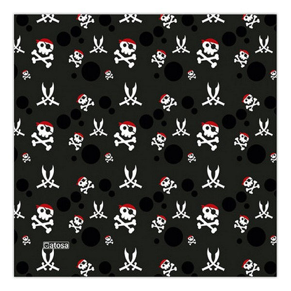 Mascarilla Higiénica de Tela Reutilizable 6-9 años Pirata (1)