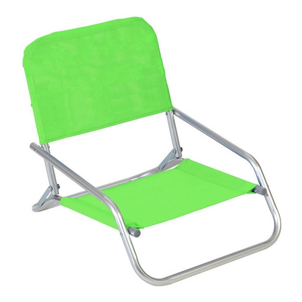 Beach Chair Textline Green (66 x 47 x 53 cm)