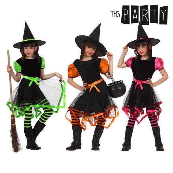 Costume per Bambini Strega Multicolore