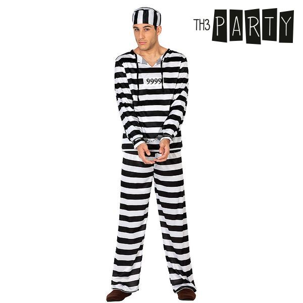 Costume per Adulti Th3 Party 9486 Carcerato