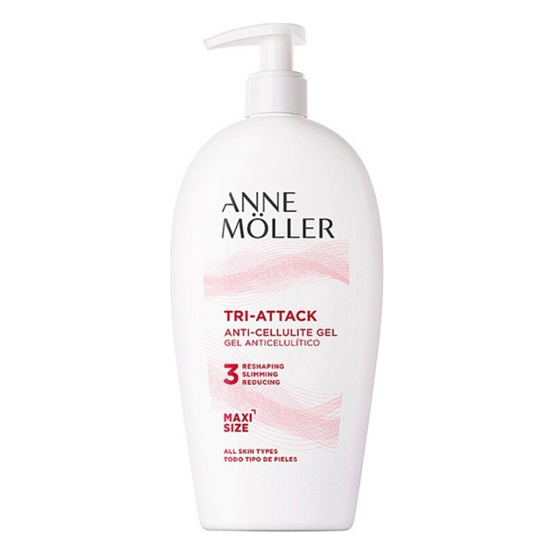 Anti-Cellulite Gel TRI-ATTACK anti-cellulite gel 400 ml Anne Möller (400 ml)
