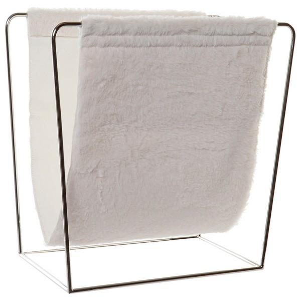 Magazine rack DKD Home Decor Polyurethane Cotton Metal (40 x 20 x 38 cm)