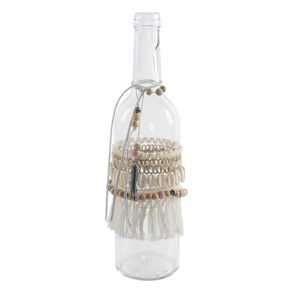 Glass Bottle DKD Home Decor Decorative Polyester Crystal