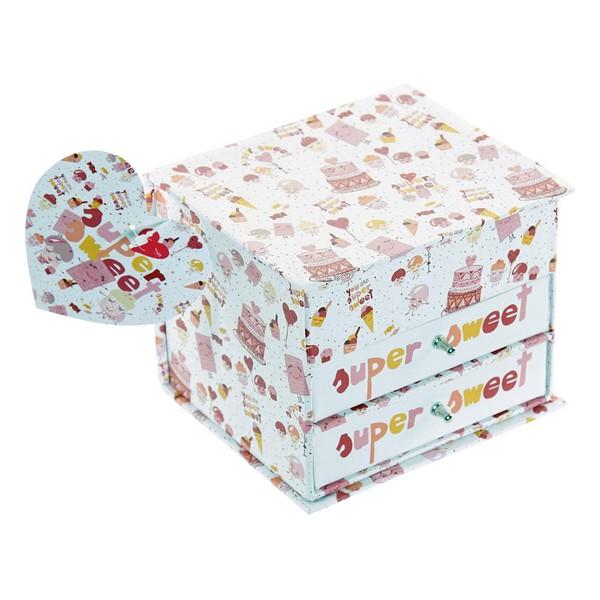 Jewelry box Dekodonia Super Sweet (13 x 10 x 10 cm)