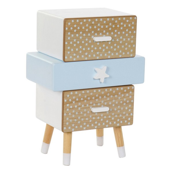 Chest of drawers DKD Home Decor Paolownia wood (45 x 25 x 63 cm)