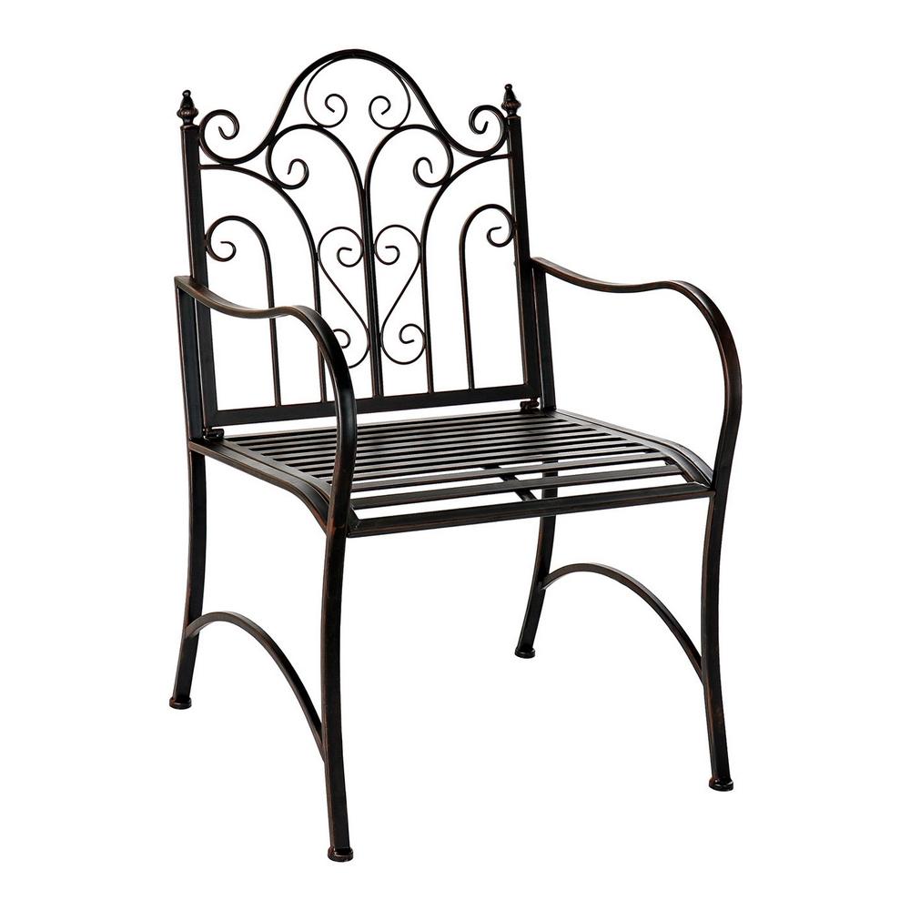 Garden chair DKD Home Decor Metal (60 x 63 x 95 cm)