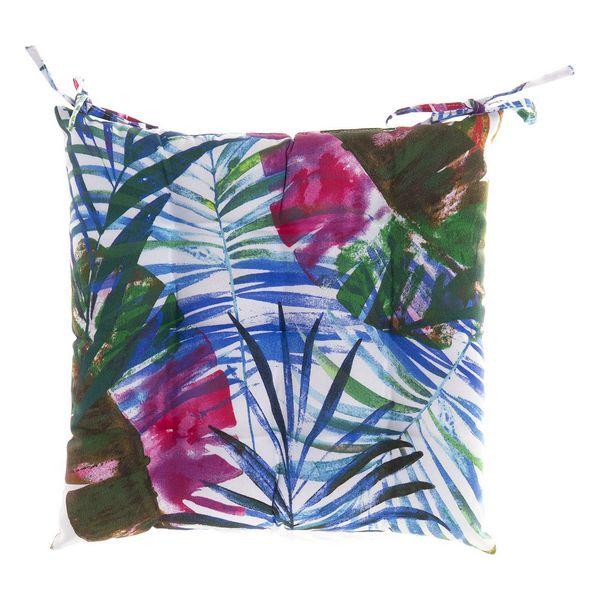 Chair cushion DKD Home Decor Sheets Multicolour (43 x 43 x 5 cm)