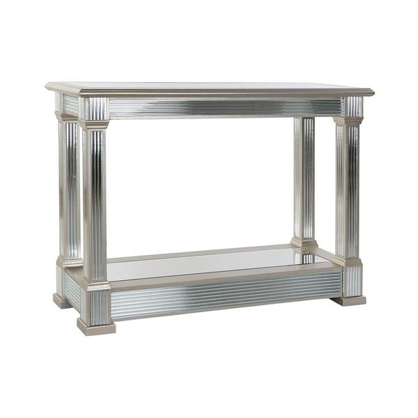 Console DKD Home Decor Wood Mirror (110 x 42 x 81 cm)