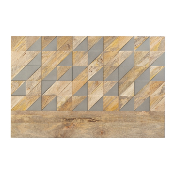 Headboard DKD Home Decor Mango wood (159 x 5 x 108 cm)