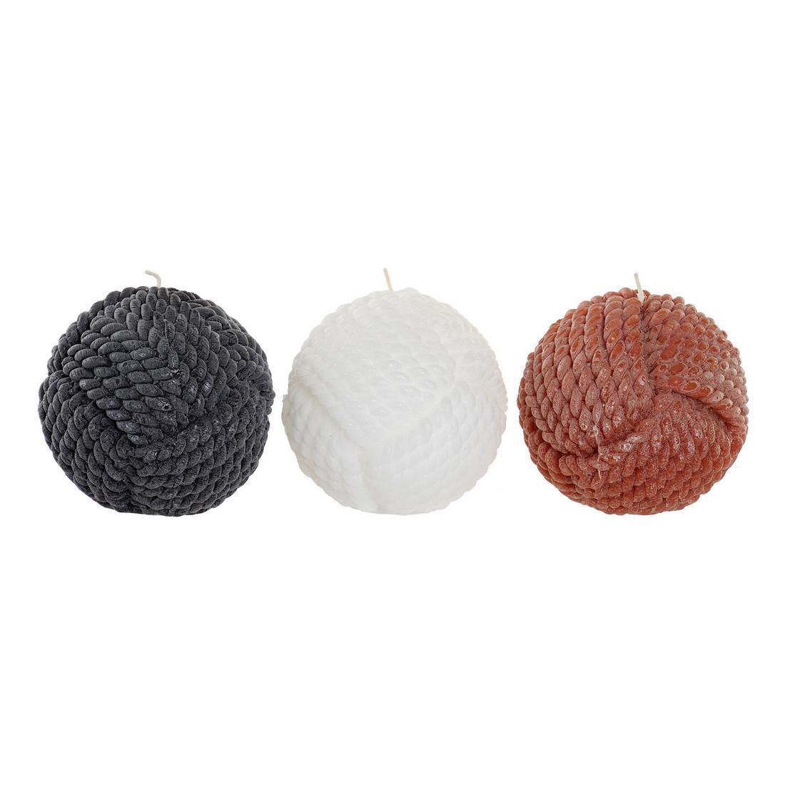 Candle DKD Home Decor Ball (3 pcs)