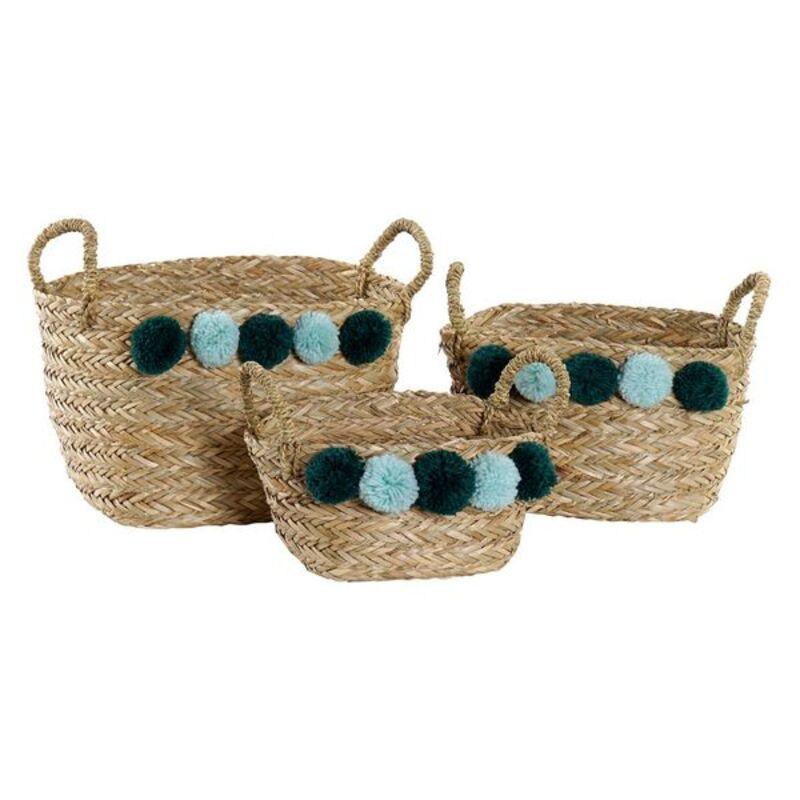 Basket Dekodonia Polyester (3 pcs)
