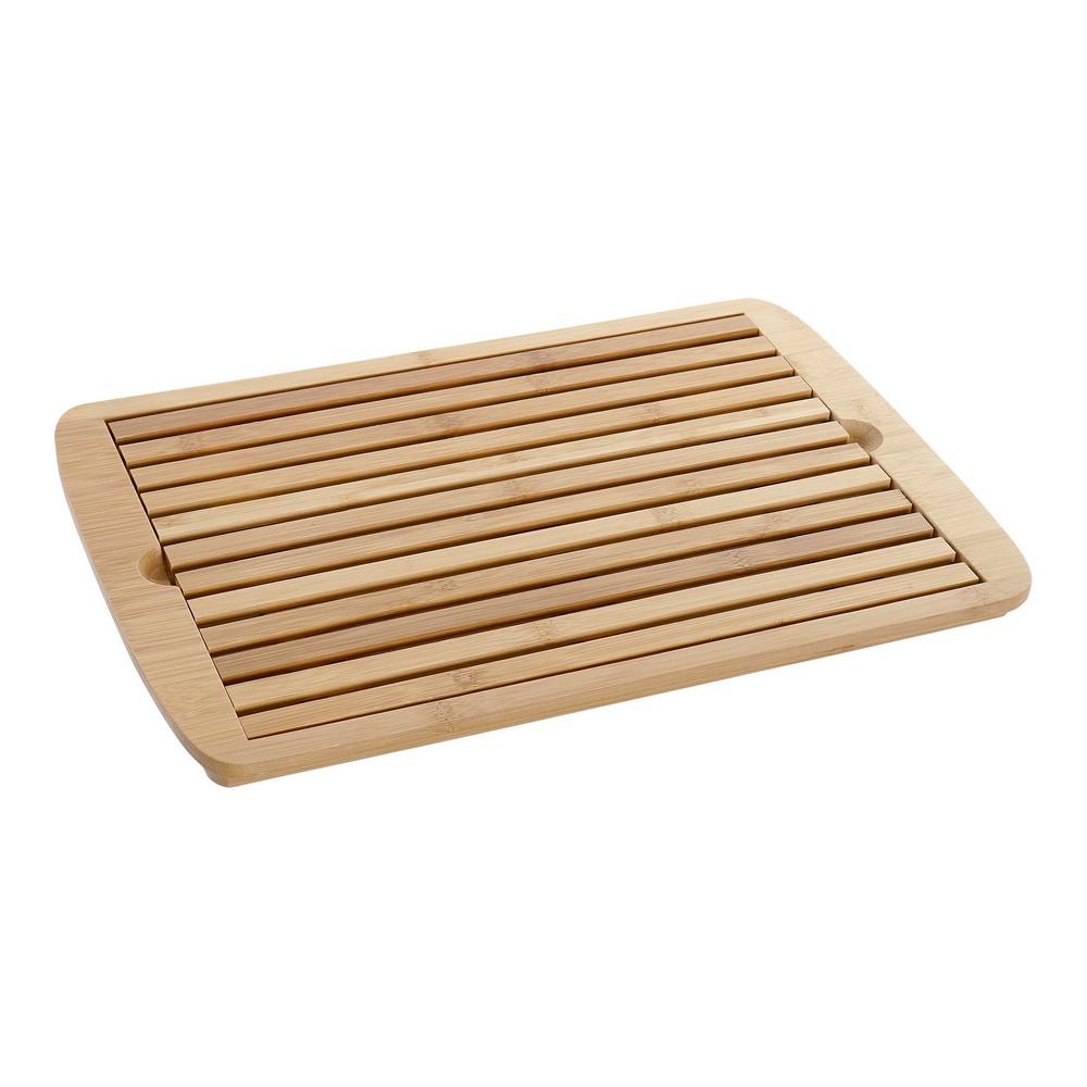 Bamboo Bread Board DKD Home Decor (35.7 x 24 x 1.7 cm)