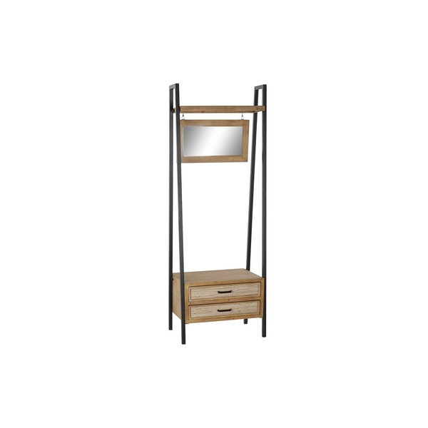 Hall Table with 2 Drawers DKD Home Decor Wood Metal (65 x 43 x 180 cm)
