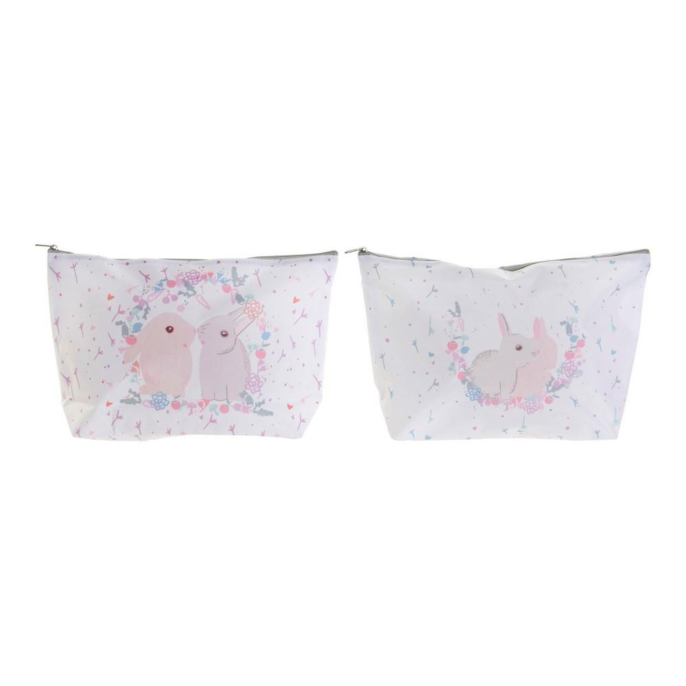 Child Toilet Bag DKD Home Decor White (2 pcs)