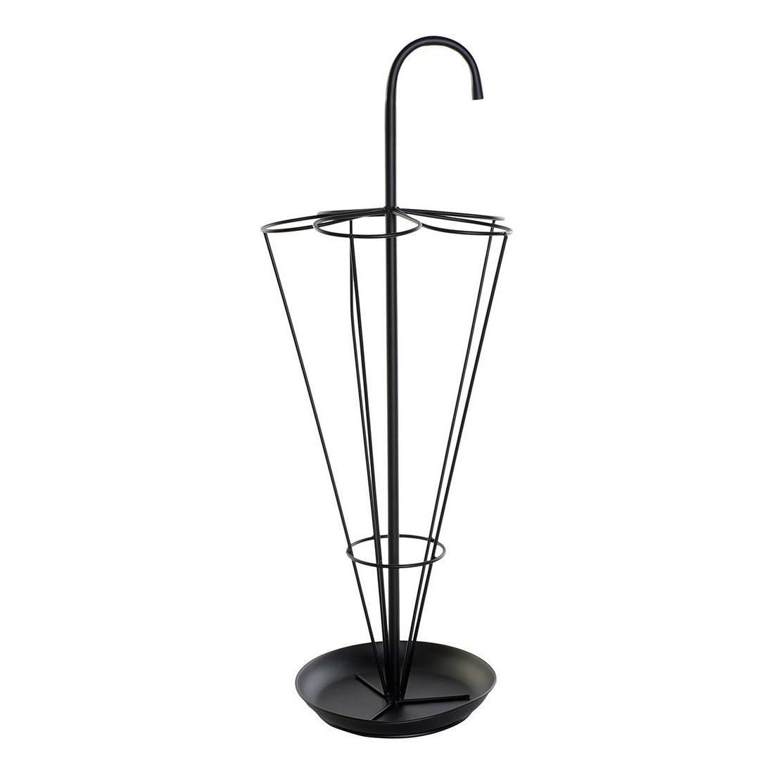Umbrella stand DKD Home Decor Black Metal (29 x 29 x 80 cm)