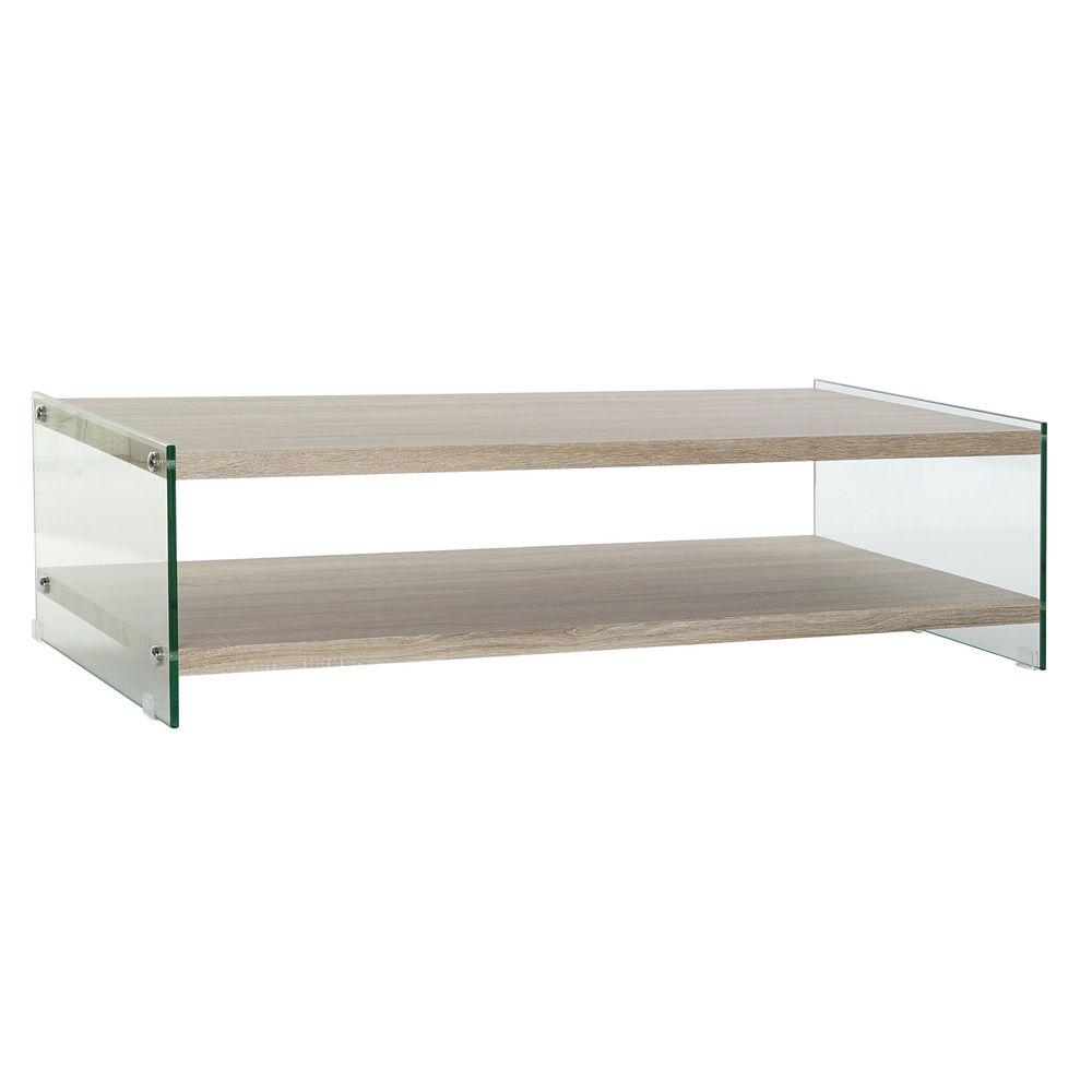 Centre Table DKD Home Decor Crystal MDF Wood (130 x 65 x 35.5 cm)