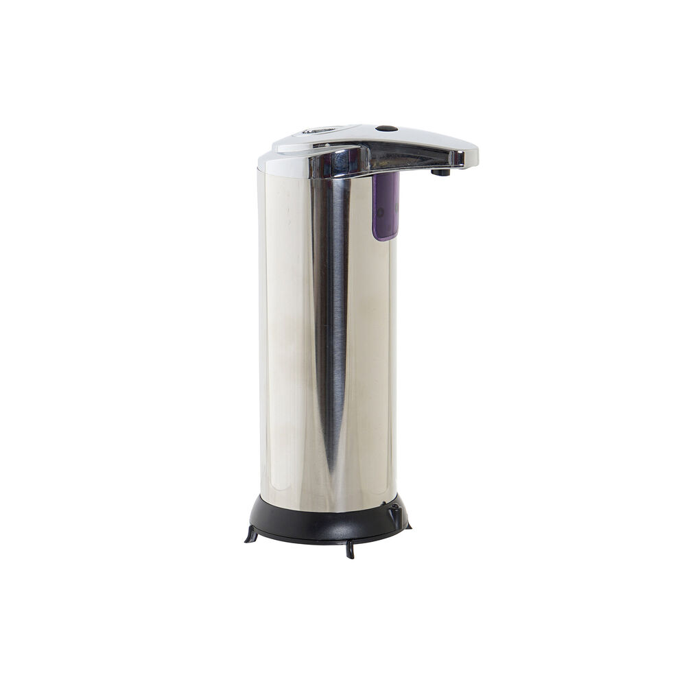 Automatic Soap Dispenser with Sensor DKD Home Decor Black Silver ABS (250 ml)
