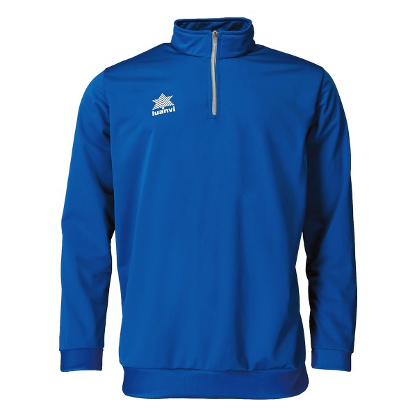 Sweatshirt without Hood Luanvi Pol Blue