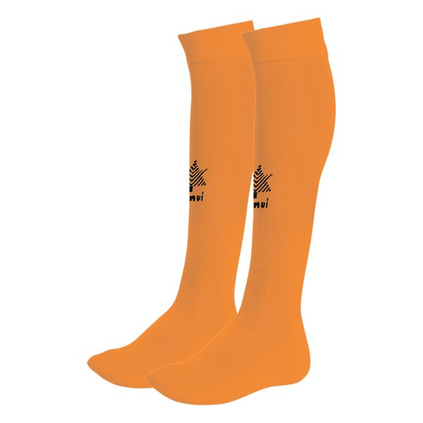 Adult's Football Socks Luanvi Goal Orange Polyester/Polyamide (One size)