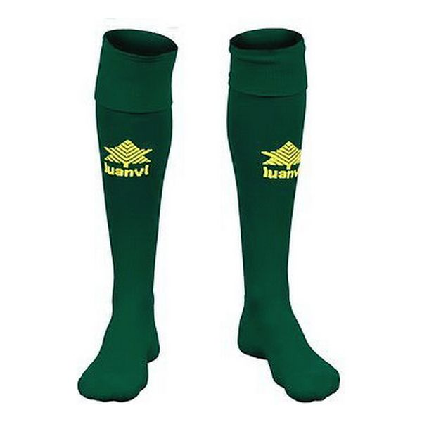 Children's Football Socks Luanvi Goal Green (One size)