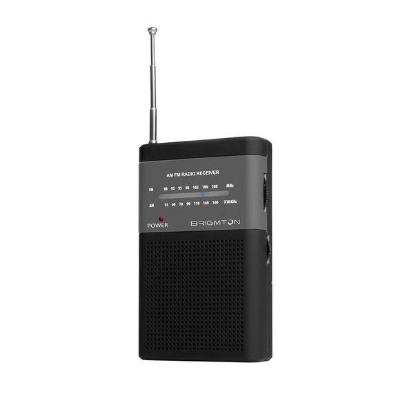 Transistor Radio BRIGMTON BT-350-N Black