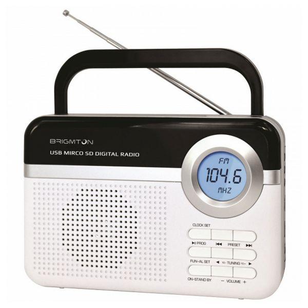 Transistor Radio BRIGMTON BT 251 B White