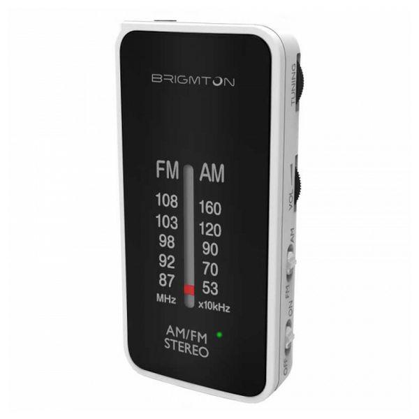 Transistor Radio BRIGMTON BT224 White