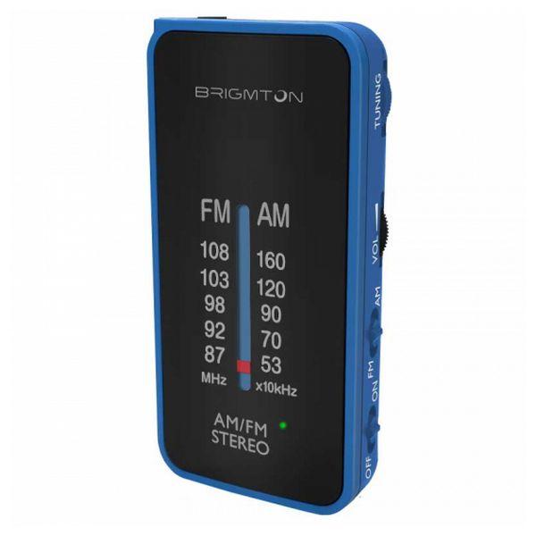 Transistor Radio BRIGMTON BT224 Blue