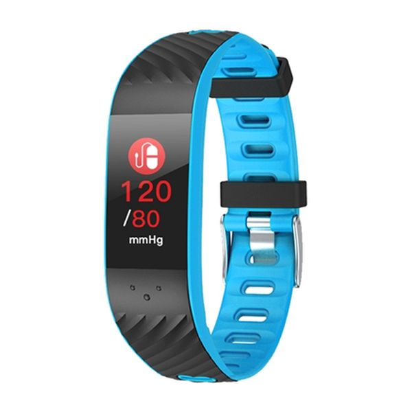 "Activity Bangle BRIGMTON BSPORT-16-A 0,96"" OLED Bluetooth Blue Computers Electronics"