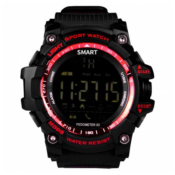 "Smartwatch BRIGMTON BWATCH-G1R 1,12"" Bluetooth IP67 Rojo"