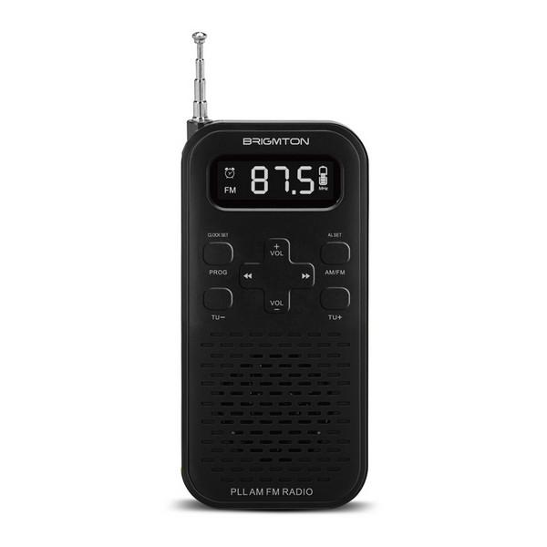 Transistor Radio BRIGMTON BT-127N 3W 800 mAh Black