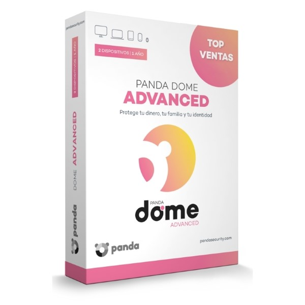 Antivirus Hogar Panda Dome Advance (2 Dispositivos)