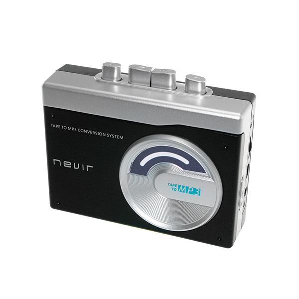 Reproductor conversor de cassette a MP3 NEVIR NVR-417 Negro