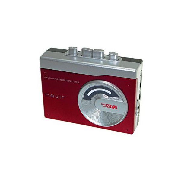 Reproductor conversor de cassette a MP3 NEVIR NVR-417 Rojo