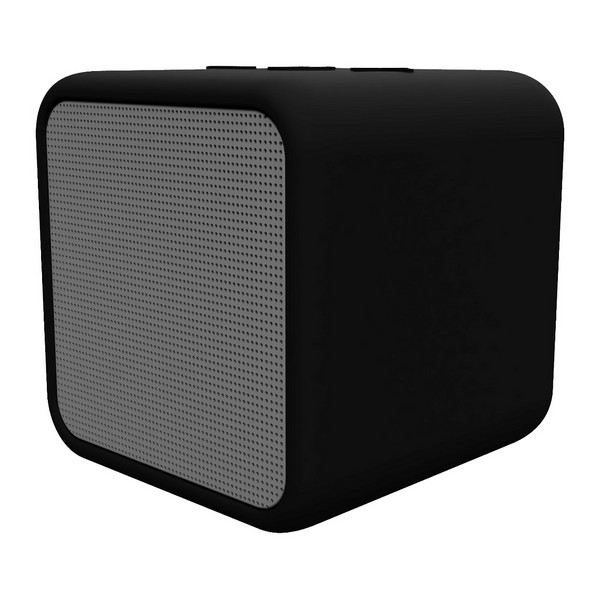 Altavoz Bluetooth Inalámbrico Kubic Box KSIX 300 mAh 5W Negro
