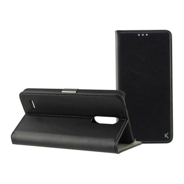 Folio Mobile Phone Case Lg K11 KSIX Black