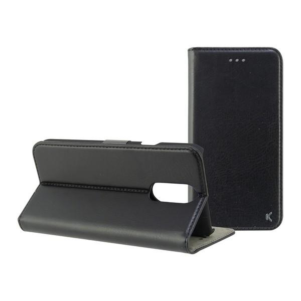 Folio Mobile Phone Case Lg Q7 KSIX Black