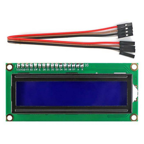 LCD Screen for Robotics Kit (16 x 2)