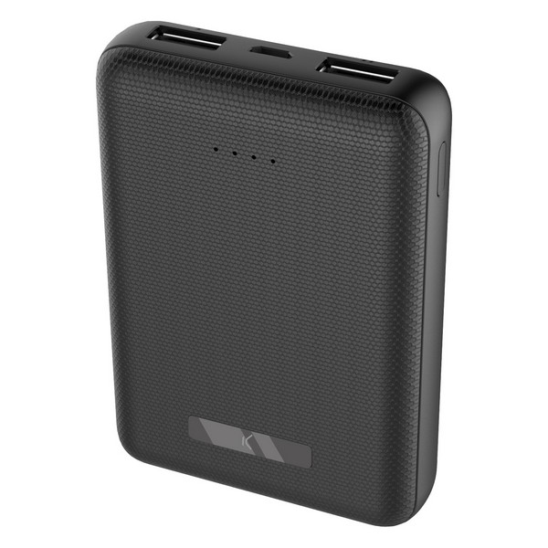 Power Bank KSIX 10000 mAh Negro