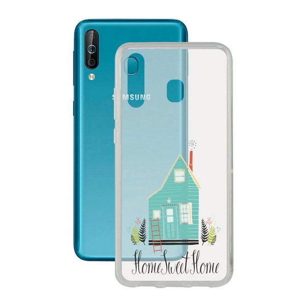 Funda para Móvil Samsung Galaxy A40s Contact Flex Home TPU