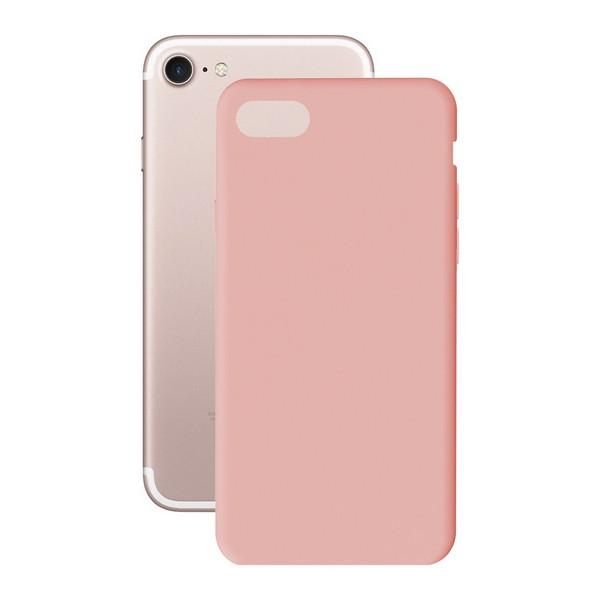 Funda para Móvil Iphone 7+/8+ KSIX Soft Cover TPU Rosa